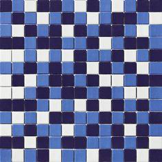 Glass Mosaic Tile Ocean Matte Finish