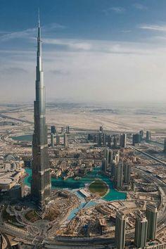 Burz Khalifa tower of Dubai.