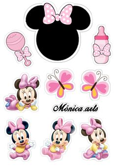 Minnie Baby, Minnie Mouse, Disney Characters, Fictional Characters, Art, Art Background, Kunst, Performing Arts, Fantasy Characters
