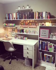 Home Office Design Layout Study Room Decor, Cute Room Decor, Room Ideas Bedroom, Bedroom Decor, Home Room Design, Home Office Design, Home Office Decor, Room Goals, Aesthetic Room Decor