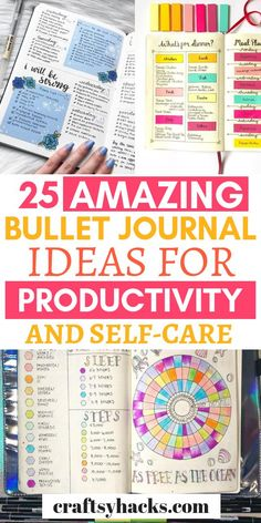 Feel more organized with a journal. Try these mini planner ideas for productivity and self-care, they're definitely worth it. Self Care Bullet Journal, Bullet Journal 2019, Bullet Journal Hacks, Bullet Journal Printables, Bullet Journal Spread, Bullet Journal Ideas Pages, Bullet Journal Layout, Bullet Journal Inspiration, Journal Pages