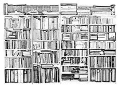 Free Coloring Page Bookstore Created From A Photograph By Hans Peter