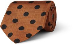 Piombo MP di Massimo Polka-Dot Silk Tie sur shopstyle.fr