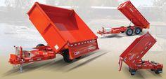 Dump Trailer - 3-Way Dump (5 Ton Model)-SR