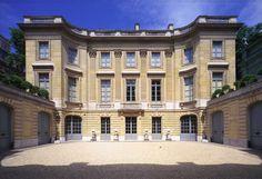 Musée Nissim de Camondo Paris 8e,  construit par René Sergent entre 1911 et 1914 en bordure du parc Monceau.