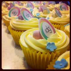 Don't say it with an invoice this Easter, say it with a cupcake!