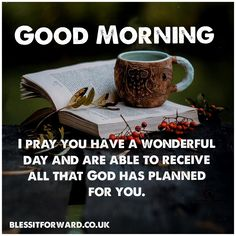Good morning wave to all you beautiful people, I pray you have a wonderful day and are able to receive all that God has planned for you. Good Morning Sweetheart Quotes, Good Morning Motivation, Happy Morning Quotes, Good Morning Image Quotes, Good Morning Beautiful Quotes, Morning Quotes Images, Good Morning Inspirational Quotes, Morning Greetings Quotes, Positive Morning Quotes