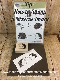 card making tutorials Tip How to Get a Reverse Image from a Stamp Card Making Tips, Card Making Tutorials, Card Making Techniques, Making Ideas, Scrapbooking Technique, Scrapbooking Layouts, Stampin Up, Image Stamp, Stamping Up Cards