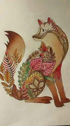 Floresta Encantada/ Raposa /Johanna Basford