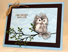 The Serendipitous Stamper: Impression Obsession Challenge~Feathered Friends