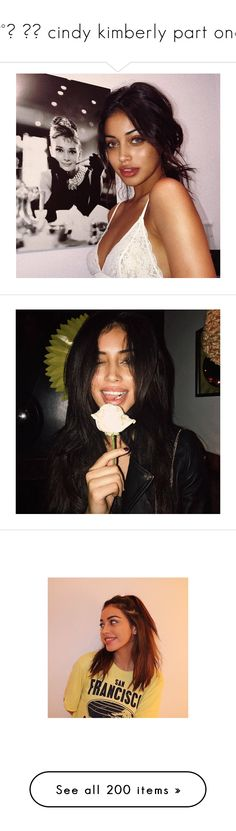 """♡°˖ ✧◝ cindy kimberly part one"" by sassy-an0ns ❤ liked on Polyvore featuring cindy kimberly, cindy, accessories, girls, people and pictures - brown"