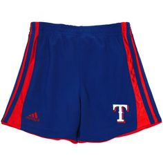 adidas Texas Rangers Preschool 3-Stripe Shorts - Navy Blue - $17.09