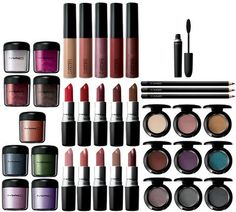 love MAC products - will one day own a lot of them ... lol