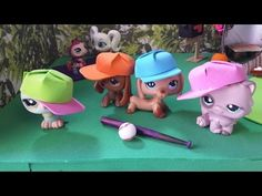 How to Make an LPS Baseball Hat: Doll DIY - YouTube