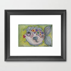CANDY Framed Art Print by Caribbean Critters Co. - $36.00