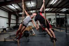 CrossFit Couple's Engagement Photos Are Nothing Short Of Badass