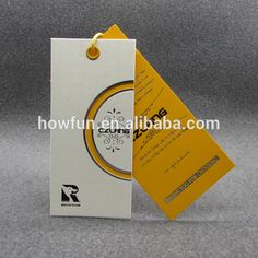 Source colorful printing paper hang tags cloth tags on m.alibaba.com