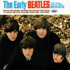 the beatles albums | The Early Beatles Album Cover