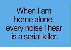 Fato!! Qualquer barulho..um susto....