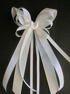 Hochzeitsdeko - 10*Antennenschleifen*Farbe wählbar*mehr vorrätig! - ein Designerstück von bastel-freak bei DaWanda