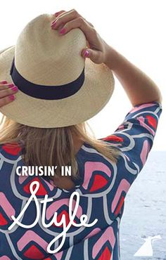 Cruise in comfort and style with these vacation fashion tips. Cruise Excursions, Cruise Travel, Cruise Vacation, Cruise Trips, Honeymoon Cruise, Vacation Wear, Dream Vacations, Cruise Fashion, Vacation Fashion