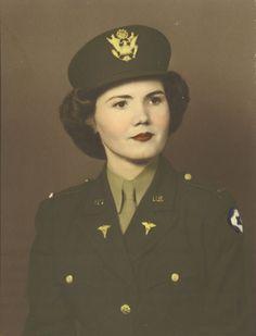 Hazel Jones, ANC ( Army Nurse Corps) circa 1943