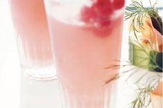 Bruisend cranberrysap