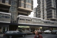 Central Area Redevelopment, Lower Kirkgate, Wakefield by Richard Seifert (1964) - pictured in early 1980s