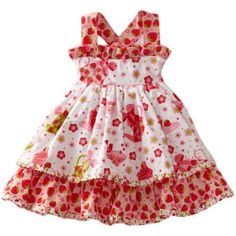 *tea for 2:Birthday outfit* Jelly The Pug Baby-Girls Infant Cake Sassy Apron Dress $46.00