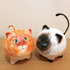 Ideas For Diy Paper Projects Papier Mache Paper Mache Diy, Paper Mache Projects, Paper Mache Sculpture, Sculpture Art, Plaster Sculpture, Fun Crafts, Paper Crafts, Paper Mache Crafts For Kids, Paper Mache Animals