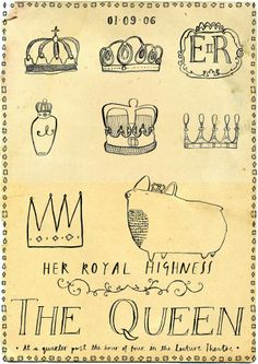 crowns--the queen