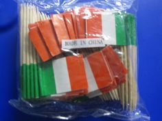 Wholesale 10 x 144 (1440) of Italian Flag picks