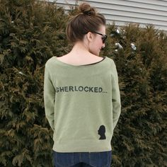 la vie en rose: BBC Sweatshirt Refashion: Sherlock