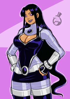 By skyraptor (DC Comics - Blackfire) Teen Titans Blackfire, Teen Titans Fanart, Character Description, Dc Comics, Disney Characters, Fictional Characters, Doodles, Marvel, Fan Art