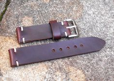 Horween Leather APPLE Watch Strap 22mm 24mm Apple Watch