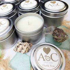 Tin Candles perfect for that special moment. We can design the label for you or you can send us your design. We have 45 fragrances to choose from