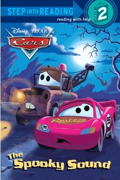 The Spooky Sound (Disney/Pixar Cars) (Step into Reading) @ niftywarehouse.com #NiftyWarehouse #Disney #DisneyMovies #Animated #Film #DisneyFilms #DisneyCartoons #Kids #Cartoons