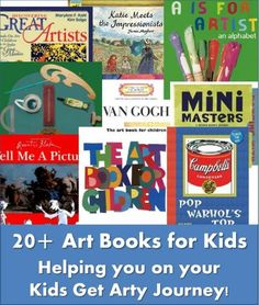 art books for kids a great introduction to REAL art for kids. We adore these art picture books. So inviting and not at all intimidating.