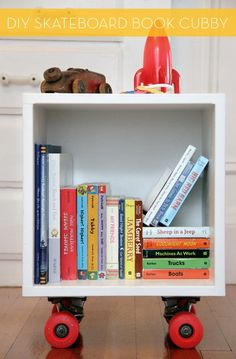 credit: Project Little Smith [http://projectlittlesmith.blogspot.com/2011/12/diy-scater-book-cubby.html]