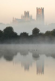 """nature-and-culture: """" classicalbritain: """" Ely Cathedral - Cambridge, England """" http://nature-and-culture.tumblr.com/ """""""