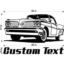 Car Wall Decals Stickers Man Cave Boys Room Decor 3 Feet Wide