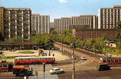 Królewska / Marszałkowska, 1971 Ppr, Googie, Socialism, Poland, Illusions, City Photo, Postcards, Retro, World