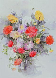 Shirley Felts - Carnations