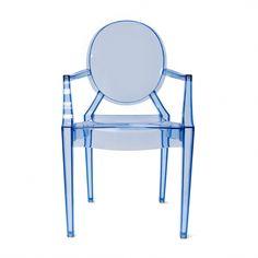 Ghost Armchair - Blue - Set Of 2 | Memoky.com