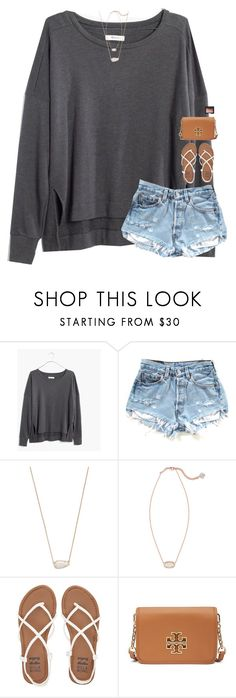 """girls never want to hear ""it's not you its me"""" by classynsouthern ❤ liked on Polyvore featuring Madewell, Kendra Scott, Billabong, Tory Burch and NARS Cosmetics"