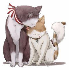 Cuddling by B-Griveros