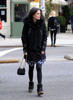 Rachel Bilson heads to lunch in New York City on January 13, 2014.