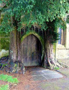 #door - St Edwards Church Stow on the Wold hobbit door - Inspired Tolkein!!! By judy dean 10.28.2010