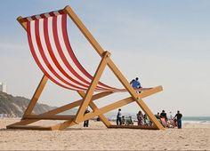 la chaise géante de Bournemouth