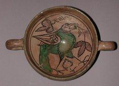 Umbria/Orvieto, two-handled cup, circa 1250 — 1350